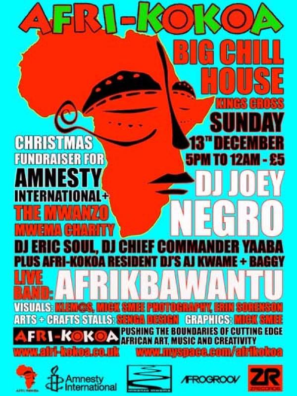 Joey Negro & Afrikbawantu, 13 Dec 2012