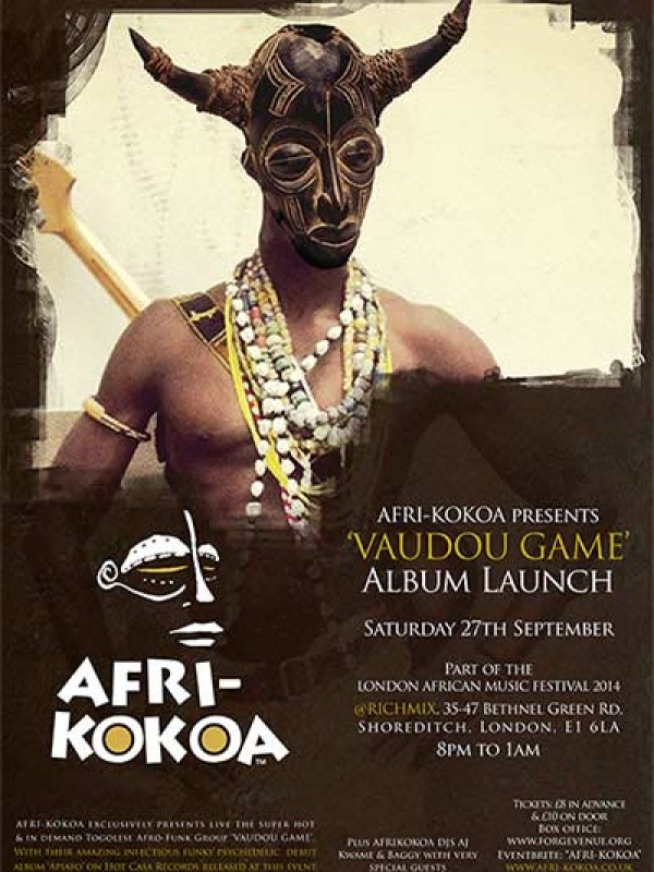 """VaudouGame"" Album launch, Sat 27 Sep 2014"
