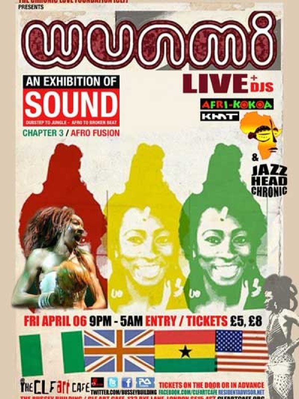 Wunmi live & Jazz Head Chronic DJs on Fri 6 April 2011