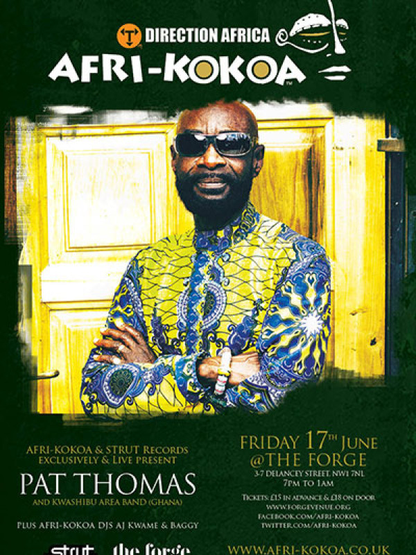Buy tickets now: Pat Thomas – 17th June 2016